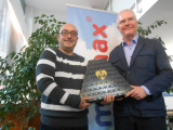 We congratulate Ricardo Hurtado for his 15 years in Immomax Castelldefels