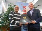 Nous félicitons Ricardo Hurtado pour ses 15 ans à Immomax Castelldefels